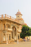 City Palace in India. The home of the Royal family Stock Photography