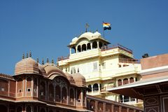 City Palace, Jaipur royalty free stock image