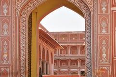 City Palace in Jaipur Stock Photos