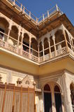City Palace in Jaipur Stock Photos