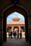 City Palace in Jaipur. Royalty Free Stock Images