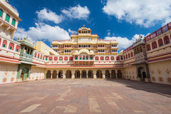 City Palace in Jaipur. Chandra Mahal Palace (City Palace) in Jaipur, India stock photo