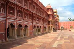 City Palace in Jaipur. Royalty Free Stock Photos
