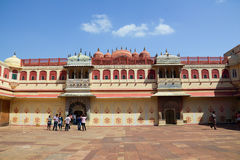 City Palace in Jaipur Stock Image