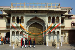 City Palace in Jaipur (India) Royalty Free Stock Photo