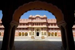 City Palace in Jaipur, India Royalty Free Stock Images