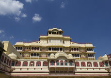 City Palace of Jaipur, India. City Palace, Jaipur, which includes the Chandra Mahal and Mubarak Mahal palaces and other buildings, is a palace complex in Jaipur royalty free stock images
