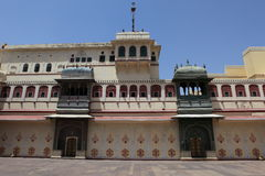 City Palace of Jaipur in India Royalty Free Stock Photos