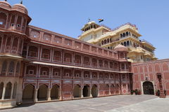 City Palace of Jaipur in India Royalty Free Stock Photo