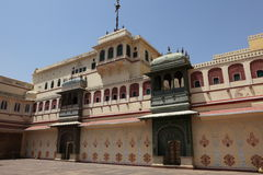 City Palace of Jaipur in India Stock Images