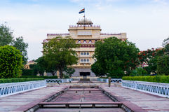 City palace in Jaipur (india) Stock Images