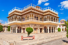 City Palace in Jaipur. Mubarak Mahal Palace (City Palace) in Jaipur, India Royalty Free Stock Photo
