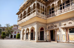City Palace in Jaipur. City Palace museum in Jaipur, Rajasthan, India Stock Photo