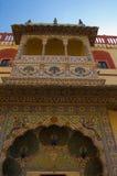 City Palace Jaipur Peacock Doors Royalty Free Stock Images