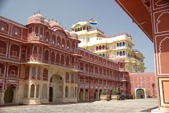 City Palace in Jaipur, Rajasthan. The City Palace of Jaipur in Rajasthan, India Stock Photos