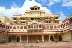 City Palace.Jaipur, rajasthan. Royalty Free Stock Photo