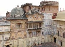 City Palace in Karauli Stock Image