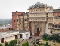 City Palace in Karauli Stock Photo