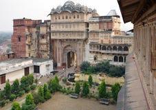 City Palace in Karauli Royalty Free Stock Photo