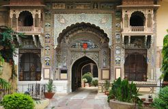 City Palace in Karauli Stock Images