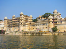City Palace by Lake Pichola Royalty Free Stock Photo