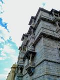 The City Palace. One of the Popular Fort in Udaipur, Rajasthan, India ...Fort of Maharana Partap which obey for his Governess...true place stock images
