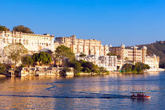 City Palace in Udaipur Stock Photography
