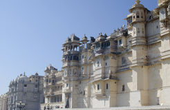 The city palace of Udaipur in India Royalty Free Stock Photography