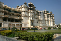 City Palace, Udaipur, india Royalty Free Stock Photo