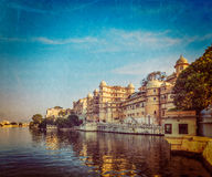 City Palace. Udaipur, India Royalty Free Stock Image