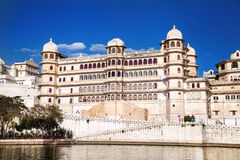 City Palace in Udaipur Stock Photo