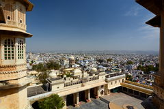 City Palace. Udaipur. Rajasthan. India Stock Photography