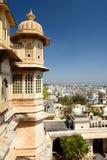 City Palace. Udaipur. Rajasthan. India Stock Image
