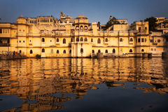 CITY PALACE UDAIPUR Royalty Free Stock Photography
