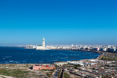 City panorama. Casablanca. Royalty Free Stock Photos
