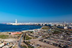 City panorama. Casablanca. Royalty Free Stock Image