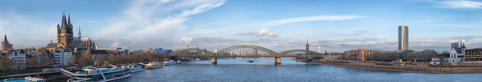 City panorama. Cologne Royalty Free Stock Photo