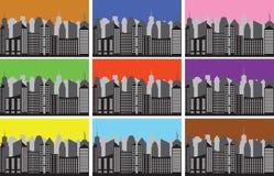 City panorama Royalty Free Stock Photography
