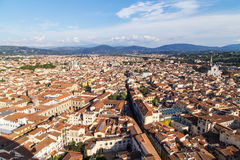 City panorama of Florence Royalty Free Stock Image