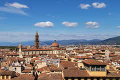 City panorama of Florence Royalty Free Stock Images