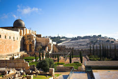 City panorama, Jerusalem Royalty Free Stock Images