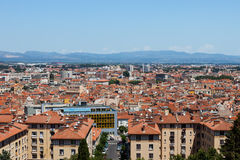 City panorama of Perpignan buildings Stock Image