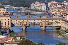 City panorama of Rome royalty free stock photos
