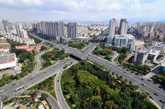 City Panorama Royalty Free Stock Photos