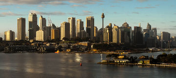City panorama of Sydney Australia Royalty Free Stock Photography
