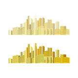 City panorama vector. Illustration background Stock Photo