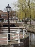 The city of papenburg in germany. The City of Papenburg in the german emsland Royalty Free Stock Photo