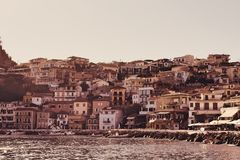 City of Parga Royalty Free Stock Photography