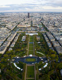 City of Paris from High Up Stock Images