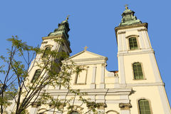 City Parish Church in Budapest Royalty Free Stock Photography